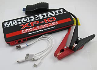 Antigravity Batteries MICRO START XP-10 Battery Jump Starter & Charger - Back Up Power Supply - S.O.S. Flashlight - JUMPS A DIESEL TRUCK AND CHARGES YOUR PHONE & LAPTOP! WITH FULL ANTIGRAVITY WARRANTY