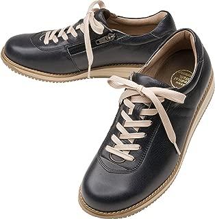 [アサヒ]コンフォートシューズ メディカルウォーク1645 ひざのトラブルを予防する レディース ファスナー付きスニーカー 3E ひざにやさしい靴