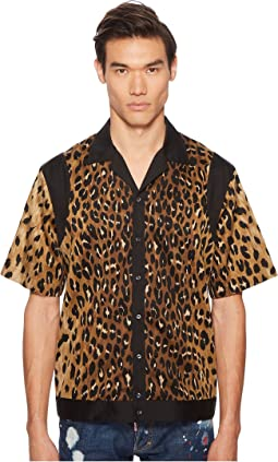 DSQUARED2 - Printed Viscose Shirt