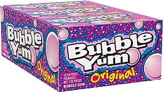 BUBBLE YUM Bubble Gum, Original, 10 Pieces (Pack of 12)