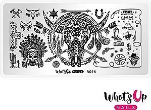 لوحة ختم واتس اب نيلز A016 فيلينغ ساوثويست للتصميم الفني للأظافر A016 Feelin' Southwestern