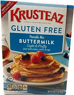 Krusteaz, Gluten Free, Pancake Mix, Buttermilk, 16oz Box (Pack of 2)