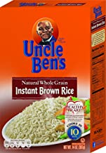 UNCLE BEN'S Whole Grain Instant Brown Rice, 14oz.