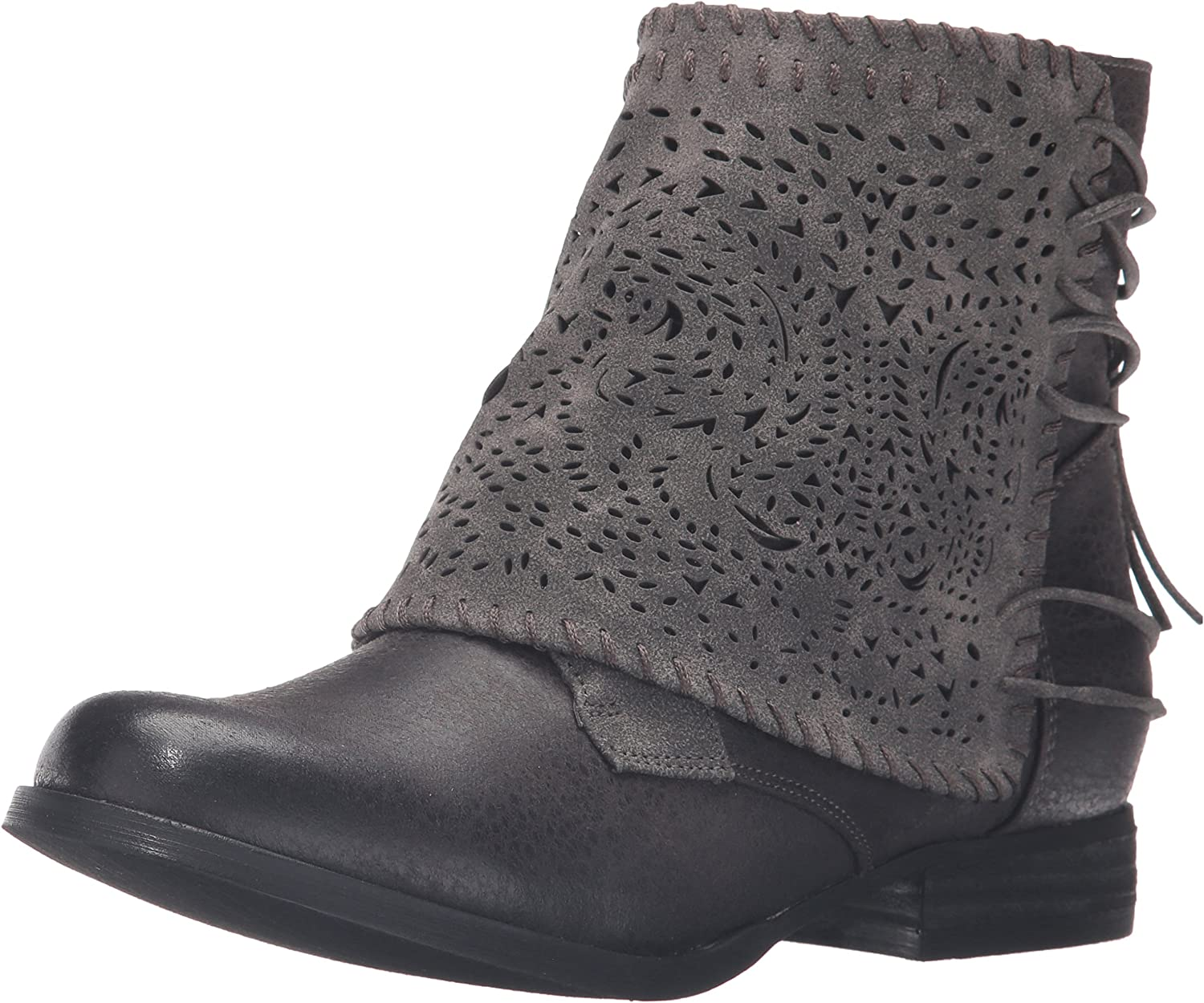 Not Rated Womens Crumbly Ankle Bootie