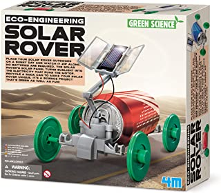 4M Fun Science Green Science - Solar Rover Educational Toys