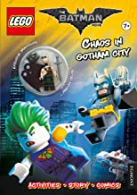 The Lego (R) Batman Movie: Chaos in Gotham City (Activity Book with Exclusive Batman Minifigure) (Lego (R) DC Comics)