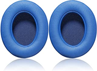 Studio 2.0 Replacement Earpads - JECOBB Ear Cushion Pads with Protein Leather & Memory Foam for Beats Studio 2 Wired/Wireless, B0500 / B0501 Over-Ear Headphones by Dr. Dre ONLY (Blue)