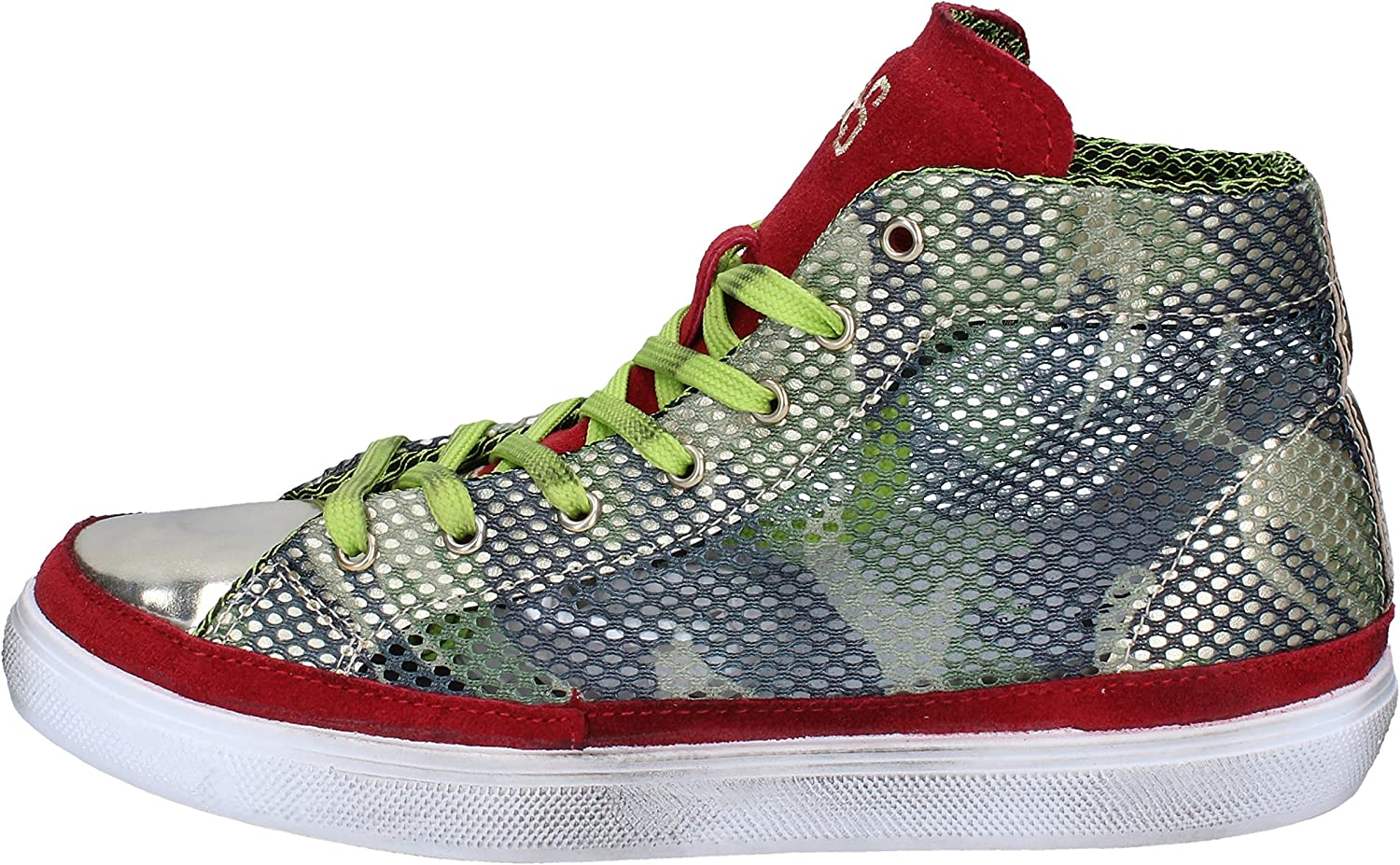 2 STAR Fashion-Sneakers Mens Green