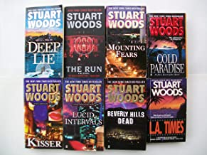 Will Lee Series & Stone Barrington Series (Mixed Set of 8) Deep Lie, Run, Mounting Fears, Cold Paradise, Kisser, Lucid Int...