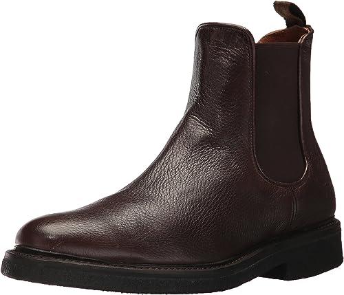 FRYE Men's Country Chelsea botas, Dark marrón, 10 D US