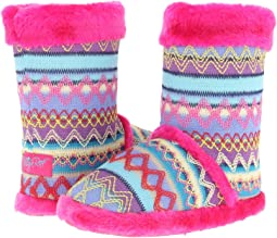 M&F Western - Knit Print Bootie Slippers