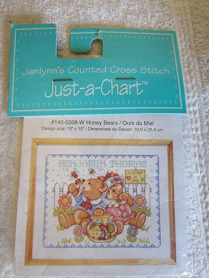 Honey BearsCounted Cross Stitch Chart