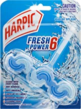 Harpic Fresh Power Toilet Block Cleaner, Marine Splash, 39g