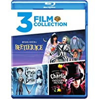 Triple Feature (Beetlejuice / Charlie and the Chocolate Factory / Corpse Bride) on Blu-Ray