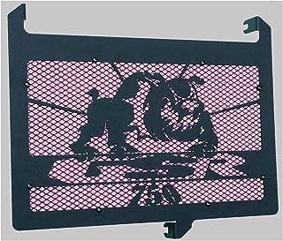 K/ühlerabdeckung 1400 GSX 20012006 Design Bulldog blaues Gitter K/ühlerverkleidung