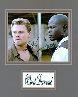 Kirkland Signature Blood Diamond 8 X 10 Movie Poster Autograph on Glossy Photo Paper