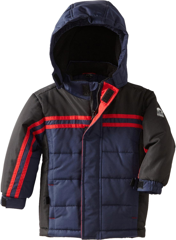Rothschild Little Boys' Chest Ranking TOP3 Jacket Puffer Department store Stripe