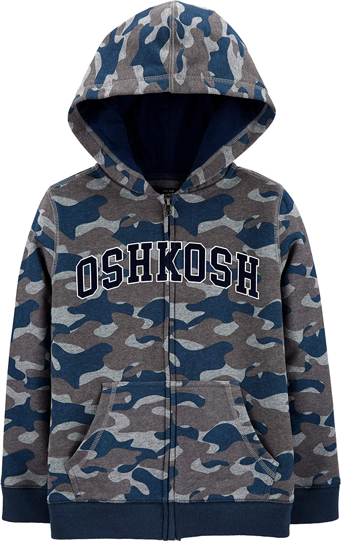 OshKosh B'Gosh Boys' Full Zip Logo Hoodie