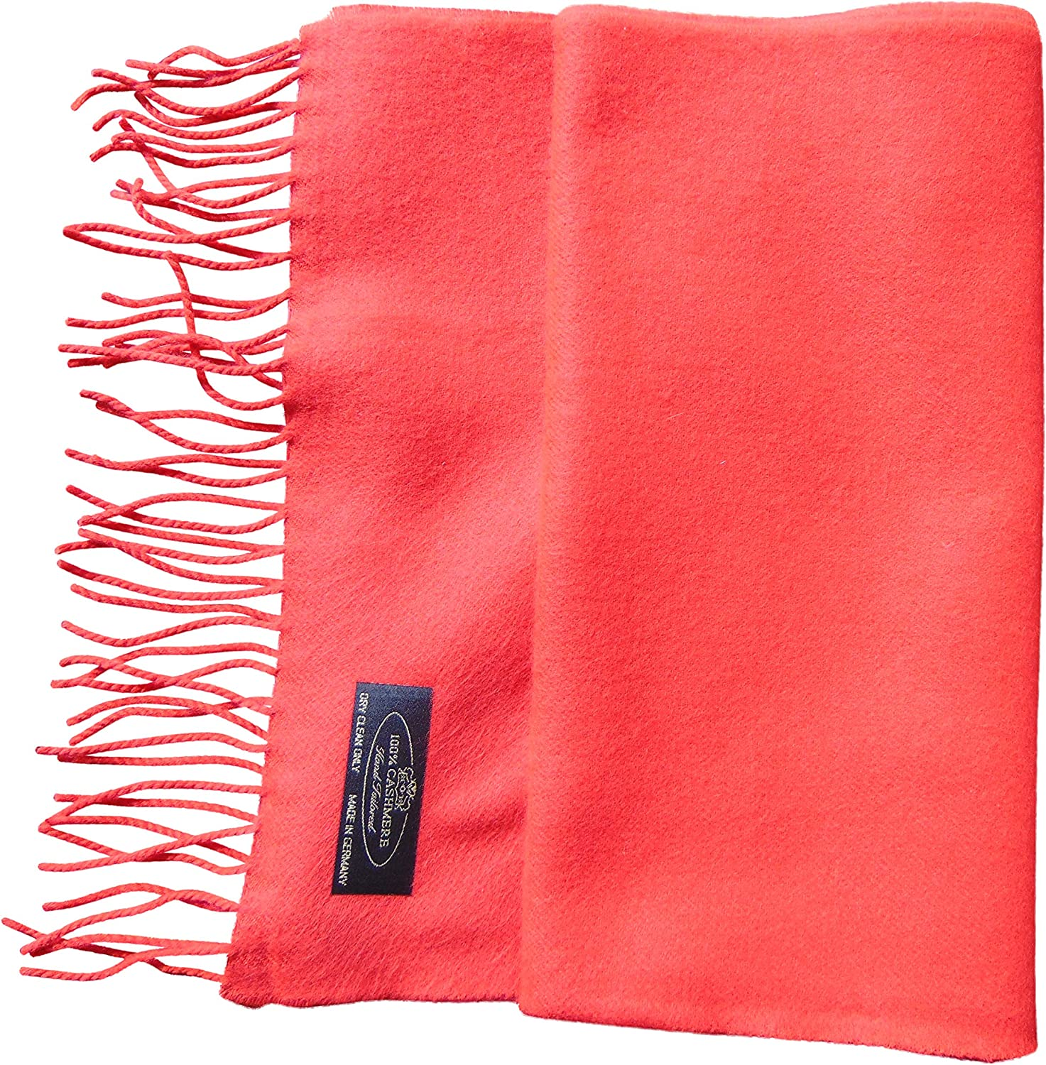 """Annys Super Soft 100% Cashmere Scarf 12""""x72"""" with Gift Bag"""