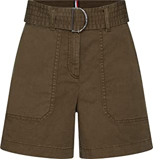 Tommy Hilfiger Cotton Twill Shorts Jean Slim Femme