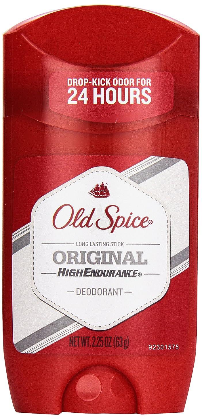 早くオーチャードセントオールドスパイス Old Spice ハイエンデュランス オリジナル デオドラント スティック 男性用 63g[平行輸入品]