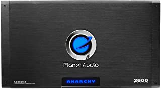 Planet Audio AC2600.2 2 Channel Car Amplifier - 2600 Watts, Full Range, Class A/B, 2-4 Ohm Stable, Mosfet Power Supply, Br...