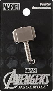 Marvel Thor Hammer Pewter Lapel Pin