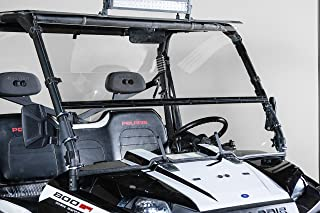 POLARIS RANGER FULL SIZE (2009 XP, 2010-2014) FULL-TILT WINDSHIELD (Does not fit 900 OR Mid Size). Best of both worlds Half when you want and Full when you need. Made in America