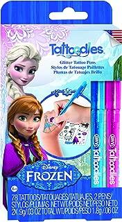 Savvi Disney Frozen Tattoodles Glitter Gel Pen Kit with 2 Pens (2-Pack)