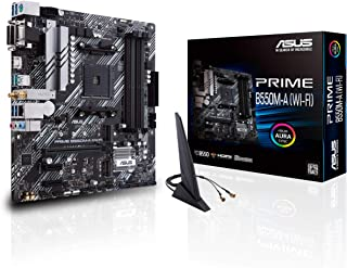 ASUS PRIME AMD Ryzen AM4 Micro ATX Gaming Motherboard,DDR4,AM4,B550M-A