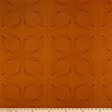 Andover Quantum Interconnection Fabric, Rust, Fabric By The Yard