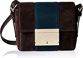 DKNY Women's Crossbody, Dark Chocolate/Twlight - R93EMD55