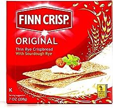 Finn Crisp Original Thin Rye Crispbread 7 oz each (1 Item Per Order)
