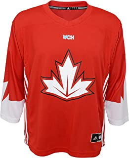 Canada World Cup of Hockey Blank Red Youth Replica Jersey