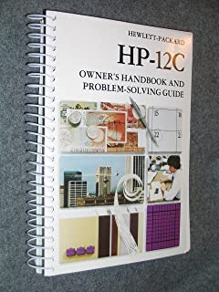 HP-12 C Owner's Handbook and Problem-Solving Guide