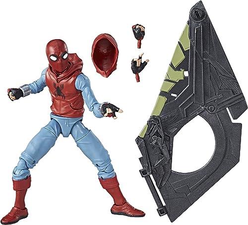 Marvel Legends, Action-Figur aus dem Film Spider-Man  Homecoming (im selbstgefertigten Anzug), (der Build Vulture's Flight Gear), 15,2
