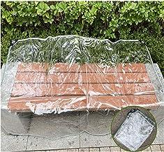LIANGJUN Transparant Waterdicht Geteerd zeildoek, PVC Anti-Aging Tarps, Kas Waterdichte Film, Regendichte Tuin Luifel, 550...