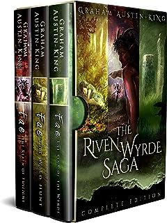 The Riven Wyrde Saga (Omnibus edition): The Complete Epic Fantasy Trilogy.