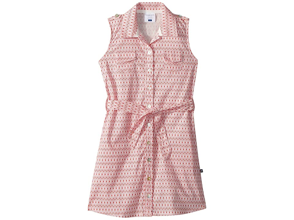 Toobydoo Pink Belted Shirtdress (Toddler/Little Kids/Big Kids) (Pink) Girl