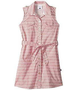 Pink Belted Shirtdress (Toddler/Little Kids/Big Kids)