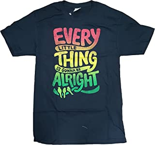 Every Little Thing is Gonna Be Alright Black Graphic T-Shirt