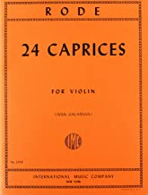 Rode: 24 Caprices for Violin (No. 2066)