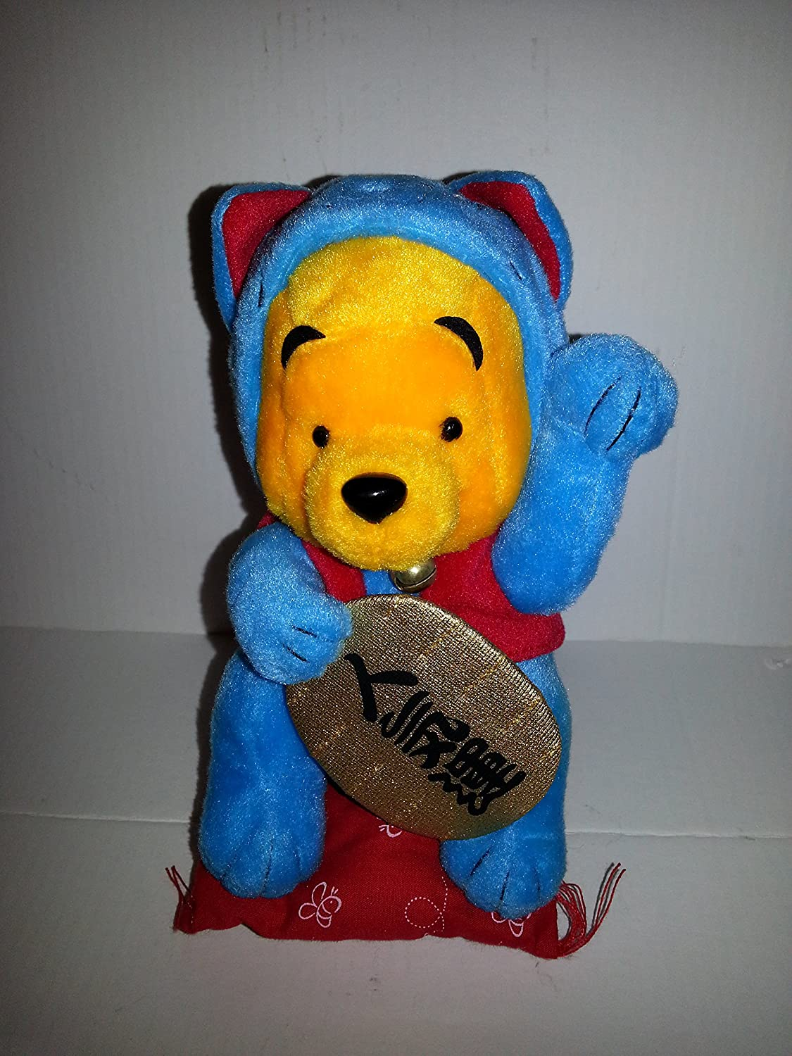 Winnie the Pooh - Inventory cleanup Max 44% OFF selling sale Cat Blue Lucky