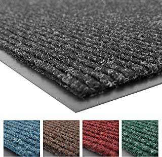 Notrax 109 Brush Step Entrance Mat, For Home or Office, 2' X 3' Charcoal