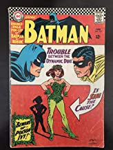 Batman #181 first printing original 1966 DC comic book 100% complete with poster. 1st Appearance of Poison Ivy