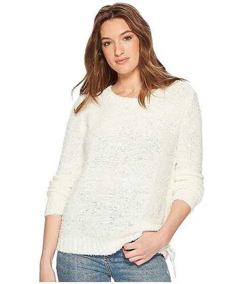 JACK BY BB DAKOTA Suzanne Side Laced Tunic Sweater, Off-White