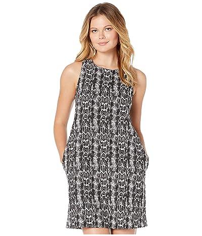 Karen Kane A-Line Dress (Black/White) Women
