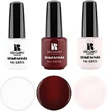 Red Carpet Manicure LED Nail Gel Polish, 9ML 3 Pack