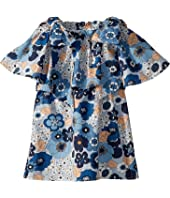 Chloe Kids - Mini Me Floral Print Knots Details (Little Kids)