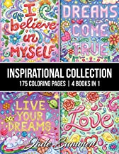 Inspirational Collection: An Adult Coloring Book with 175 Coloring Pages of Inspirational Quotes, Motivational Sayings, Positive Affirmations, and More!